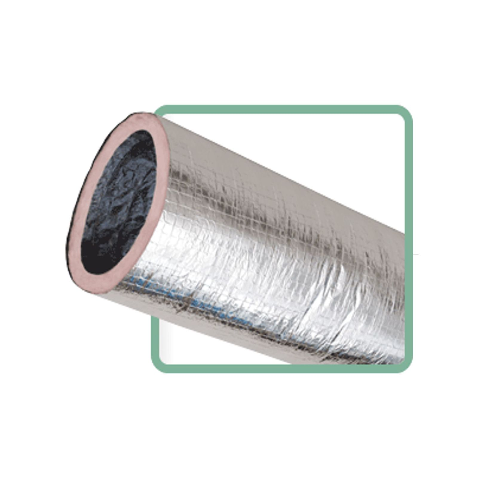 Insulated Vent Duct : Low cost thermaflex km silver flex vent